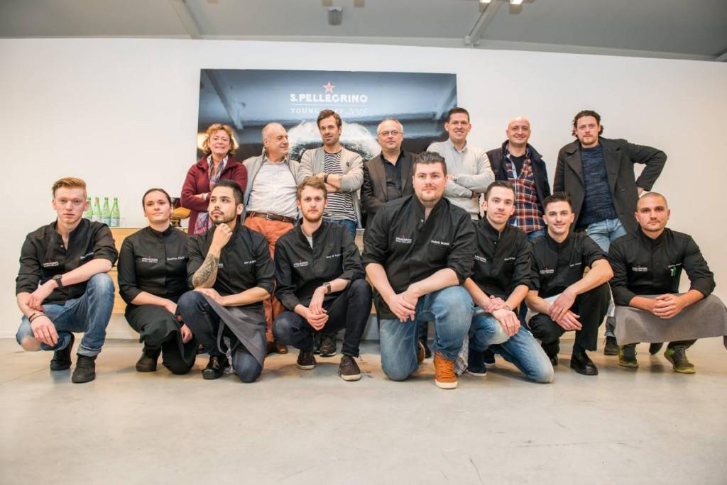 De BeNeLux finalisten en juryleden van 2015