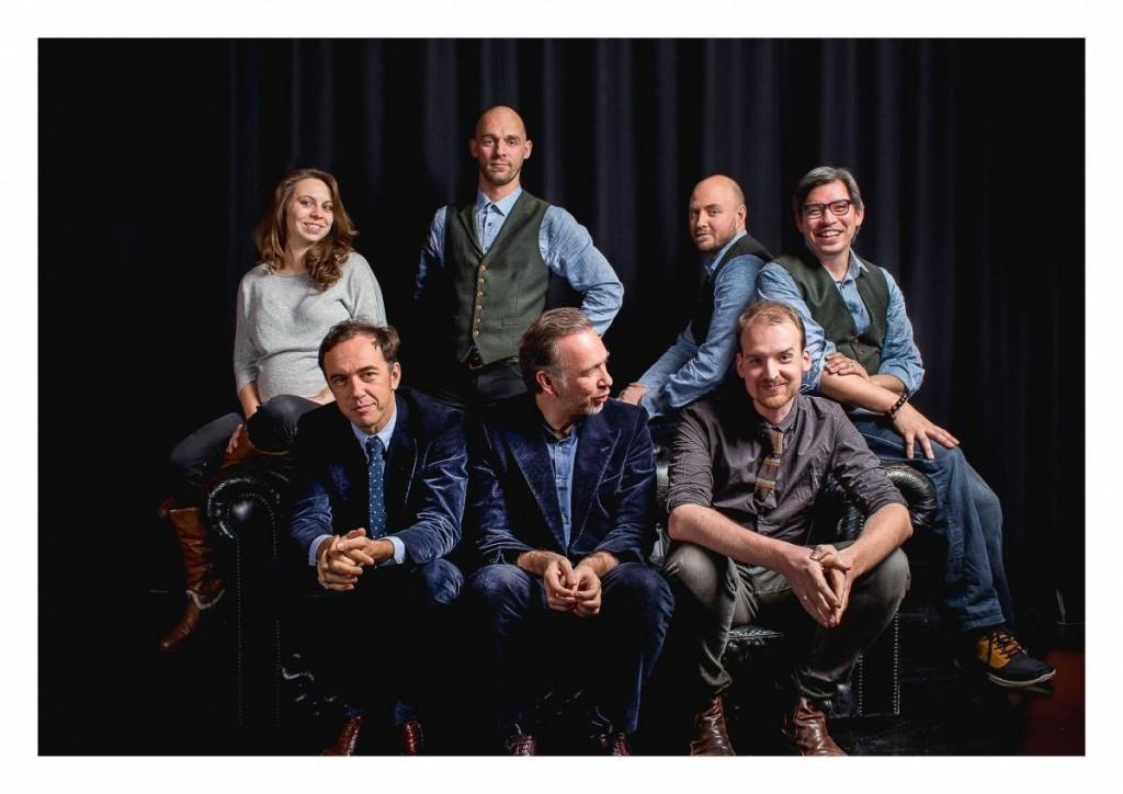 Het team van Humphrey. foto: Juan Wyns